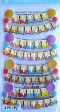 JOLEE'S BOUTIQUE HAPPY BIRTHDAY BANNERS Scrapbook Craft Stickers Embellishment