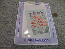 Microscale decals N 60-466 Union Pacific 60 86' box cars plug door    F91
