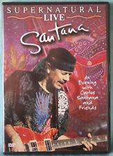 SANTANA - SUPERNATURAL LIVE - DVD N.00869