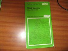 STRATHCARRON SHEET NC 49/59 1:25 000 PATHFINDER SERIES ORDNANCE SURVEY MAP