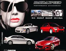 2005 MazdaSpeed Mx-5 Miata Rx-8  Factory Original Accessories Brochure Catalog