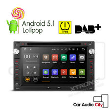 "7"" Android 5.1 Car Head Unit DVD Stereo GPS BT VW GOLF MK4 TRANSPORTER BORA SEAT"