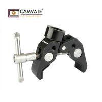 "CAMVATE Super Clamp 1/4"" Male To 5/8"" Female Screw Kit For DSLR Microphone Mount"