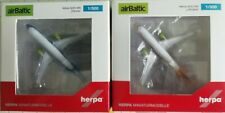 1:500 Herpa Wings Air Baltic A220 2-er Set 533942 und 534123