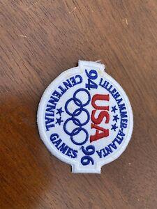Vtg 1992 Team USA Summer Olympic Games Patch Barcelona Spain XXV Olympiad NOS