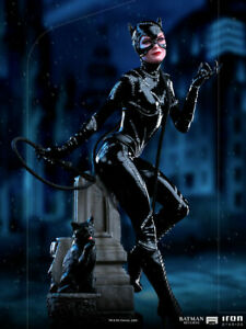 IRON STUDIOS DC COMICS BATMAN RETURNS CATWOMAN MICHELLE PFEIFFER 1:10 STATUE NEW