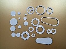 SIZZIX Tim Holtz Industrial GEARS AND Cogs la Cut Set 661817