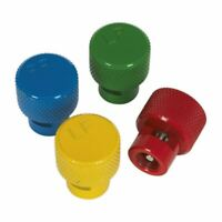 Sealey TPMS4 - TPMS Valve Deflator Tool Colour Coded 4pc