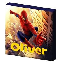 PERSONALISED SPIDERMAN CANVAS PICTURE