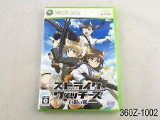 Strike Witches Xbox 360 Japanese Import Shirogane no Tsubasa Japan US Seller A