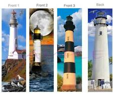 3-LIGHTHOUSE BOOKMARK Seagulls Bird Ocean Moon Sea Art Card Makes Perfect Gift