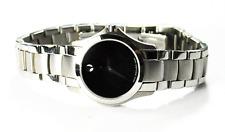 Women's Movado Black Museum 84 E4 1849 28mm Stainless Steel Wristwatch Quartz