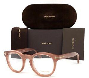 Tom Ford FT5489 074 Pink Rose / Demo Lens 48mm Eyeglasses TF5489