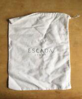 NWOT White Gray Escada Sport Dust Bag Shoes