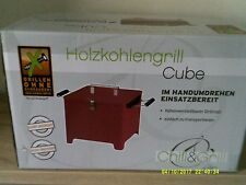 Tepro Holzkohlengrill CUBE  Chill&Grill Grillen ohne Schrauben Grill Kohlegrill