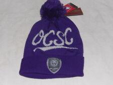 MLS Orlando City SC Adult Beanie Sport Pom Knit Cap Mitchell & Ness NWT