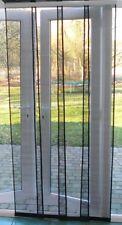 Flyscreen Panel Door 120 x 230cm Charcoal