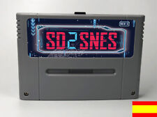 SD2SNES - Mega★Save★Cart & Development for★Super Nintendo+ 8GB ¡NUEVO!