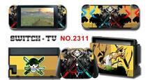 One Piece Zoro Anime Skin Aufkleber Stickers Schutzfolie Für Nintendo Switch