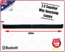 Soundbar 2.0 Channel with Bluetooth HDMI 2 x 20 Watt RMS Detachable Design HIFI
