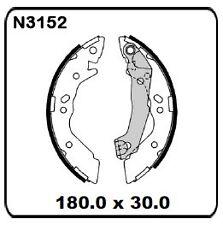 Hyundai Atoz 1.0L 11/1997-7/2003 REAR Drum Brake Shoe SET N3152