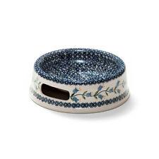 Bunzlauer Keramik Futternapf 21cm Dekor ASD Handarbeit