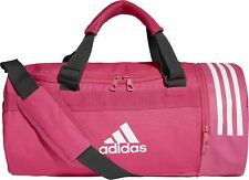 adidas Convertible 3 Stripes Small Holdall - Pink