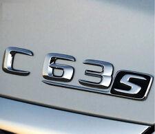 E656 C63 S Emblem Badge auto aufkleber 3D Schriftzug Plakette car Sticker Sport
