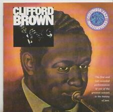 CLIFFORD BROWN  CD  THE BEGINNING AND THE END JAZZ MASTERPIECES