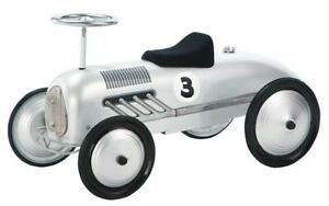 """Child's Scooter Car Ride-On Silver Streak 31"""" Length 16"""" W 14"""" H Each"""