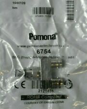 Pack Of 5 Pomona 6754 Bnc Adapter Coaxial Connector Fmf In Line 75 Ohm