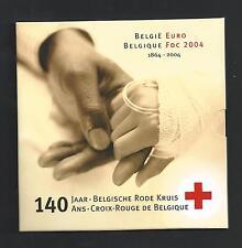 BELGIË - MUNTENSET 2004 - 140 JAAR BELGISCHE RODE  KRUIS - set in blister