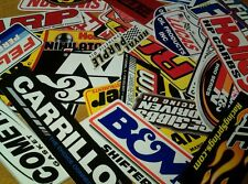 ☆☆☆25+ LARGE RACING DECALS STICKERS AUTHENTIC NASCAR CONTINGENCY STYLE☆☆☆