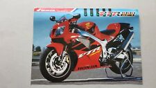 Honda VTR 1000 SP1 1999 depliant originale italiano brochure