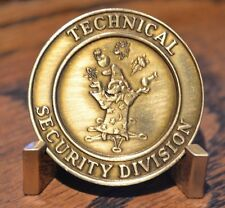 Circa 1990's United States Secret Service Technical Security Challenge Coin