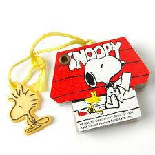 Vintage Snoopy Woodstock Red Mini Dog House Telephone Address Book Peanuts