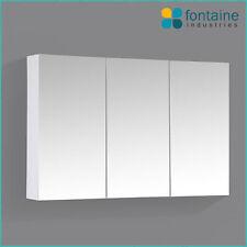 Bathroom Mirror Cabinet Shaving Medicine Storage 900 x 600 NEW 3 Doors