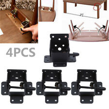 Folding Table Chair Leg Hinge Durable Self Locking Furniture Bracket Hinges New