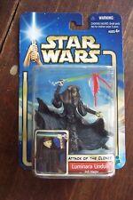 2002 Hasbro Star Wars Attack of the Clones Luminara Unduli Jedi Master