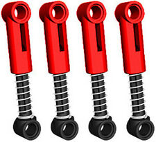 LEGO Technic 4 pcs RED SHOCK ABSORBER 6.5L Suspension Spring truck Part 731c05
