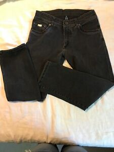 Kuhl Black Jeans Born in The Mountains 32 30 Disruptr