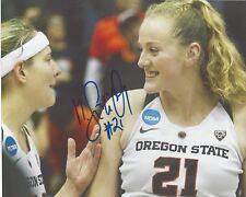 MARIE GULICH Signed 8x10 Photo Phoenix Mercury WNBA Basketball OREGON STATE