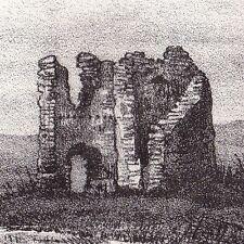 Lansac Ruines de Lansac Guienne Aquitaine Gironde