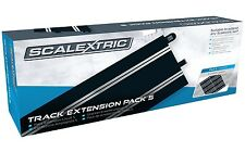 Scalextric Track Extension Pack 5 - Standard Straights slot car track 8x C8554