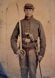 Master Series Collection Civil War Soldier Ninth-Plate Tintype C2728RP