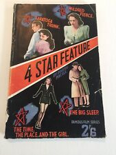 Book Of The Film Series. Four Star Feature. The Big Sleep.