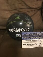 Seattle Sounders Team Signed Autograph Soccer Ball MLS Soccer