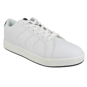MENS AIR TECH NEW YORK LACE UP SPORTS TRAINERS CASUAL LIGHTWEIGHT SHOES SIZE