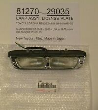 Toyota Corona RT4#/5# & Landcruiser FJ55 81270-29035 License Plate Lamp Assembly