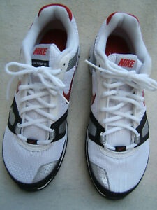 NIKE DUAL FUSION TR MEN'S WHITE RUNNING SNEAKER SIZE 10.5 NEW WITHOUT BOX
